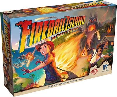 Einfach und sicher online bestellen: Fireball Island: Der Fluch des Vul-Khan in Österreich kaufen.