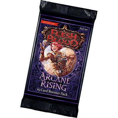 Einfach und sicher online bestellen: Flesh & Blood - Arcane Rising Unlimited Booster in Österreich kaufen.