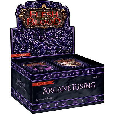 Einfach und sicher online bestellen: Flesh & Blood - Arcane Rising Unlimited Display in Österreich kaufen.
