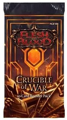 Einfach und sicher online bestellen: Flesh & Blood - Crucible of War Booster in Österreich kaufen.