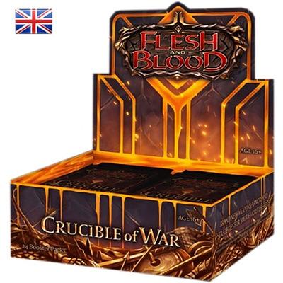 Einfach und sicher online bestellen: Flesh & Blood - Crucible of War Booster Display in Österreich kaufen.