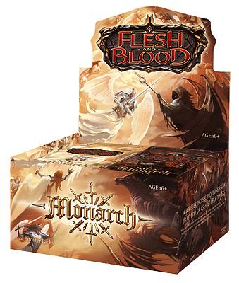 Einfach und sicher online bestellen: Flesh & Blood - Monarch First Edition Display in Österreich kaufen.