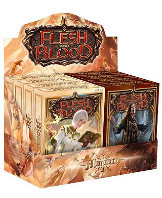 Einfach und sicher online bestellen: Flesh & Blood - Monarch Blitz Decks Display in Österreich kaufen.