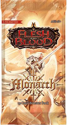 Einfach und sicher online bestellen: Flesh & Blood - Monarch Unlimited Booster in Österreich kaufen.