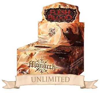Einfach und sicher online bestellen: Flesh & Blood - Monarch Unlimited Display in Österreich kaufen.