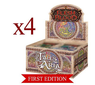 Einfach und sicher online bestellen: Flesh & Blood - Tales of Aria Case (4x1st Ed.Dis.) in Österreich kaufen.