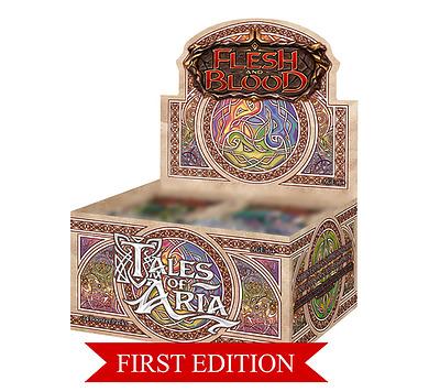 Einfach und sicher online bestellen: Flesh & Blood - Tales of Aria 1st Edition Display in Österreich kaufen.