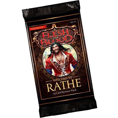 Einfach und sicher online bestellen: Flesh & Blood - Welcome to Rathe Unlimited Booster in Österreich kaufen.