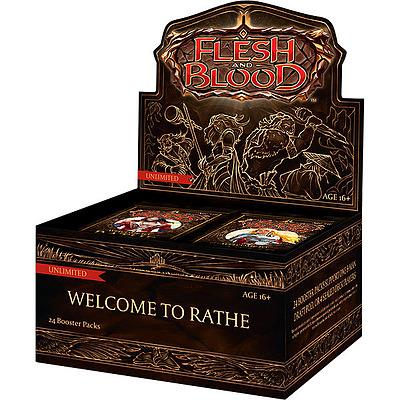 Einfach und sicher online bestellen: Flesh & Blood - Welcome to Rathe Unlimited Display in Österreich kaufen.