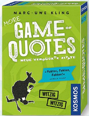 Einfach und sicher online bestellen: More Game of Quotes in Österreich kaufen.