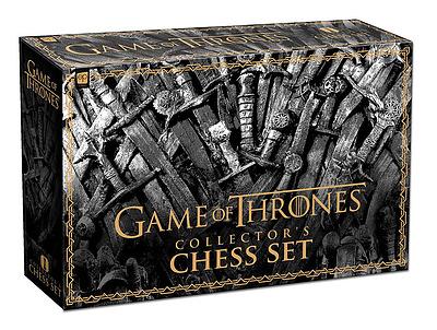 Einfach und sicher online bestellen: Game of Thrones Collector's Chess Set in Österreich kaufen.