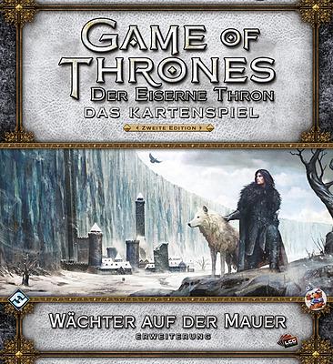 Einfach und sicher online bestellen: GoT Kartenspiel: Wächter auf der Mauer in Österreich kaufen.