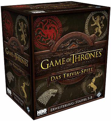 Einfach und sicher online bestellen: Game of Thrones: Das Trivia-Spiel Episode 5-8 in Österreich kaufen.