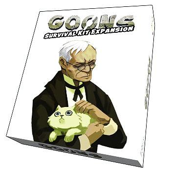 Einfach und sicher online bestellen: Goons - Survival Kit Erweiterung in Österreich kaufen.