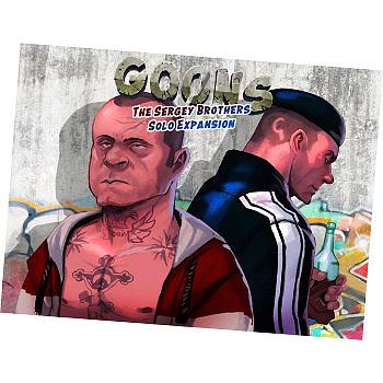 Einfach und sicher online bestellen: Goons - The Sergey Brothers Solo Erweiterung in Österreich kaufen.