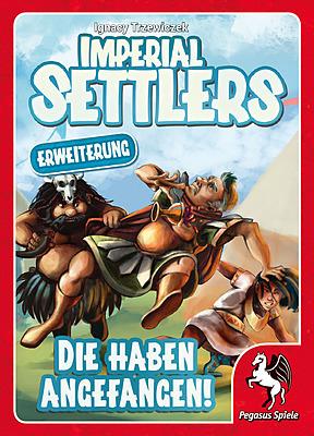 Einfach und sicher online bestellen: Imperial Settlers: Die haben angefangen! in Österreich kaufen.