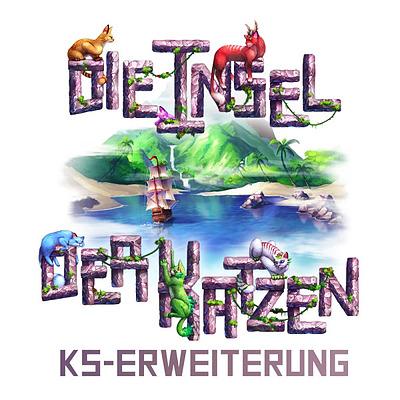Einfach und sicher online bestellen: Die Insel der Katzen Kickstarter Deluxe Set in Österreich kaufen.