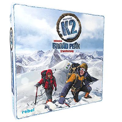 Einfach und sicher online bestellen: K2 inklusive Broad Peak Erweiterung in Österreich kaufen.