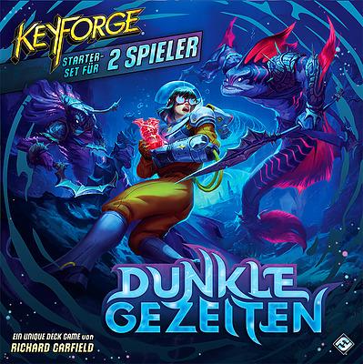 Einfach und sicher online bestellen: Keyforge: Dunkle Gezeiten Zwei-Spieler-Starter-Set in Österreich kaufen.