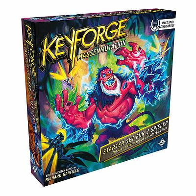 Einfach und sicher online bestellen: Keyforge: Massenmutation Zwei-Spieler-Starter-Set in Österreich kaufen.