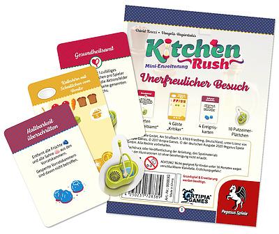Einfach und sicher online bestellen: Kitchen Rush: Unerfreulicher Besuch in Österreich kaufen.