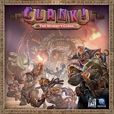 Einfach und sicher online bestellen: Clank! The Mummy's Curse (Englisch) in Österreich kaufen.