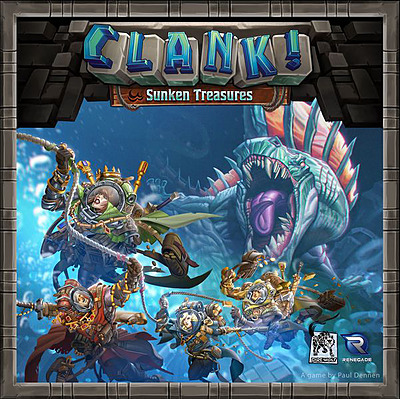 Einfach und sicher online bestellen: Clank! Sunken Treasures (Englisch) in Österreich kaufen.