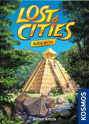 Einfach und sicher online bestellen: Lost Cities - Roll & Write in Österreich kaufen.