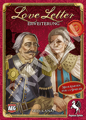 Einfach und sicher online bestellen: Love Letter Erweiterung in Österreich kaufen.