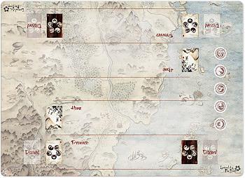 Einfach und sicher online bestellen: Legend of the 5 Rings Honored Duel Gamemat in Österreich kaufen.