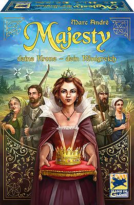 Einfach und sicher online bestellen: Majesty: Deine Krone - Dein Königreich in Österreich kaufen.