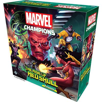 Einfach und sicher online bestellen: Marvel Champions: The Rise of Red Skull in Österreich kaufen.