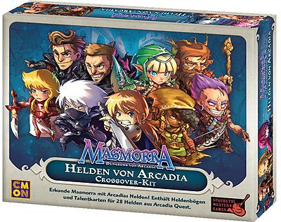 Einfach und sicher online bestellen: Masmorra: Helden von Arcadia (Crossover-Kit) in Österreich kaufen.