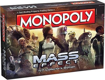 Einfach und sicher online bestellen: Mass Effect Brettspiel Monopoly in Österreich kaufen.