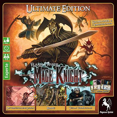 Einfach und sicher online bestellen: Mage Knight Big Box - Ultimate Edition in Österreich kaufen.