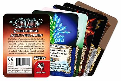 Einfach und sicher online bestellen: Mage Knight Zweifarbige Aktionskarten Upgrade in Österreich kaufen.