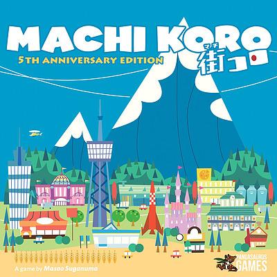 Einfach und sicher online bestellen: Machi Koro 5th Anniversary Edition (Englisch) in Österreich kaufen.