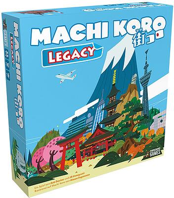 Einfach und sicher online bestellen: Machi Koro Legacy in Österreich kaufen.