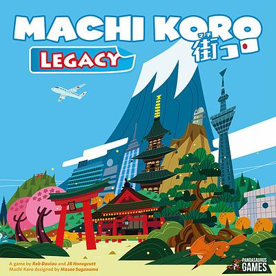 Einfach und sicher online bestellen: Machi Koro Legacy (Englisch) in Österreich kaufen.
