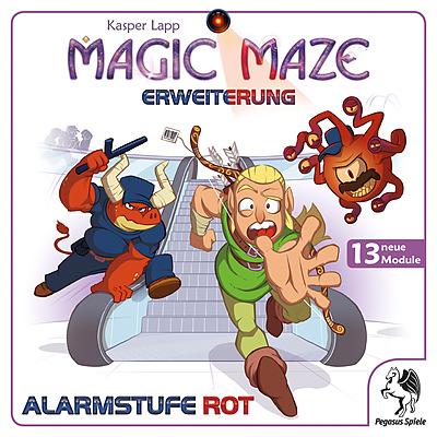 Einfach und sicher online bestellen: Magic Maze - Alarmstufe Rot in Österreich kaufen.