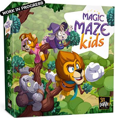 Einfach und sicher online bestellen: Magic Maze Kids in Österreich kaufen.