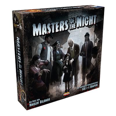 Einfach und sicher online bestellen: Masters of the Night in Österreich kaufen.
