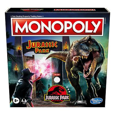 Einfach und sicher online bestellen: Monopoly Jurrasic Park (Englisch) in Österreich kaufen.