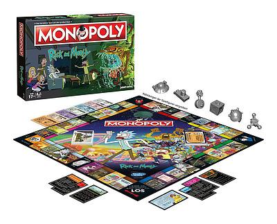 Einfach und sicher online bestellen: Rick and Morty Monopoly in Österreich kaufen.