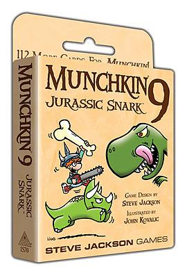Einfach und sicher online bestellen: Munchkin 9 - Jurassic Snark in Österreich kaufen.
