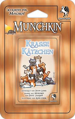 Einfach und sicher online bestellen: Munchkin Booster Krasse Kätzchen in Österreich kaufen.