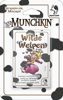 Einfach und sicher online bestellen: Munchkin Booster Wilde Welpen in Österreich kaufen.