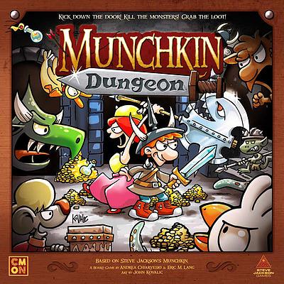 Einfach und sicher online bestellen: Munchkin Dungeon in Österreich kaufen.