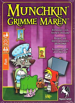 Einfach und sicher online bestellen: Munchkin: Grimme Mären in Österreich kaufen.