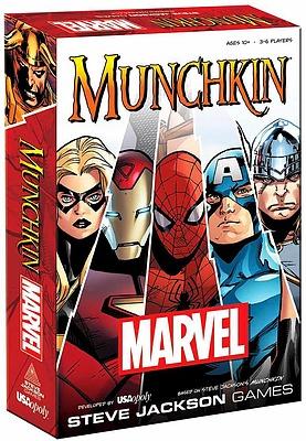 Einfach und sicher online bestellen: Munchkin Marvel Edition (Englisch) in Österreich kaufen.